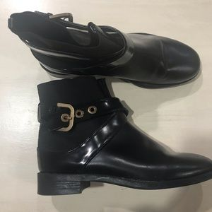 ZARA Black ankle boots 35